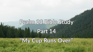 """Part 14 """"My Cup Runs Over"""""""