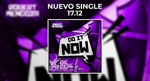 "New single ""Do It Now"" AVAILABLE 17.12"