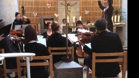 Mozartmesse KV 256, Ostern 2018 in Affoltern