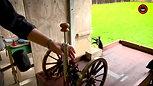 Miniature Cannon - Loading Aiming and Firing .69 Cal