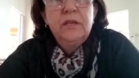 Vídeo de uma de nossas alunas