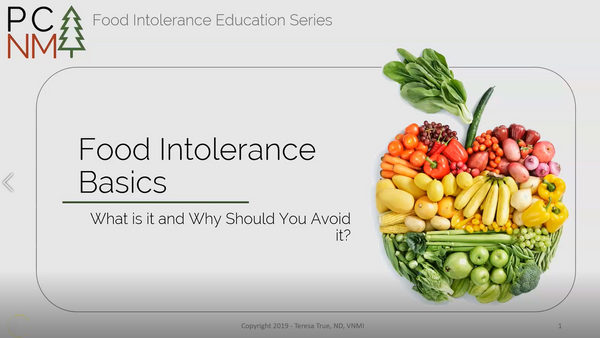 Food Intolerance Basics