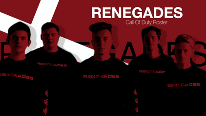 Renegades COD Roster 2020
