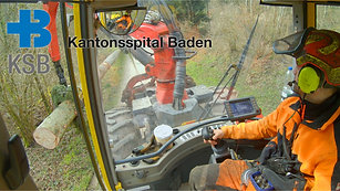 KSB-Neubau: Weisstannen für die Holzfassade (KSB BauDoku Teil 1)