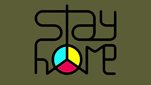 Stay home peace