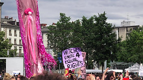 Witches unite 4 equal rights
