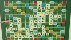 Scrabble time lapse