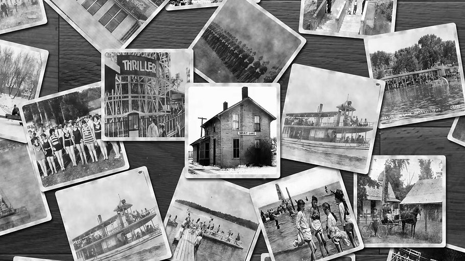 One can gain a sense of Dickinson County's farming, business, residential, and tourist industries through the photos above. Click to see our history come alive!