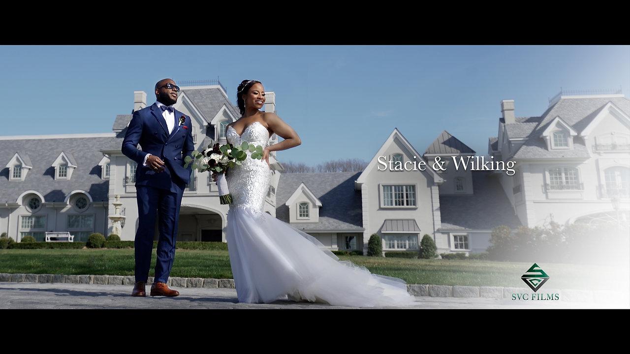 Stacie & Wilking Wedding Trailer