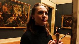 Séance au Louvre avec Audrey par Richard Cusey