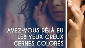 Traitement de la pigmentation des cernes et du contour de l'œil.