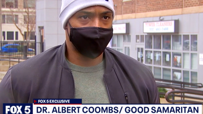 Leaders In The Community: Dr Albert Coombs III diffuses a physical altercation in his community.