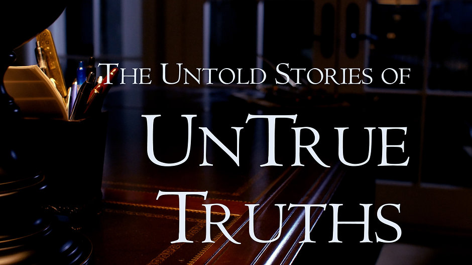 The Untold Stories of UnTrue Truths Anthology