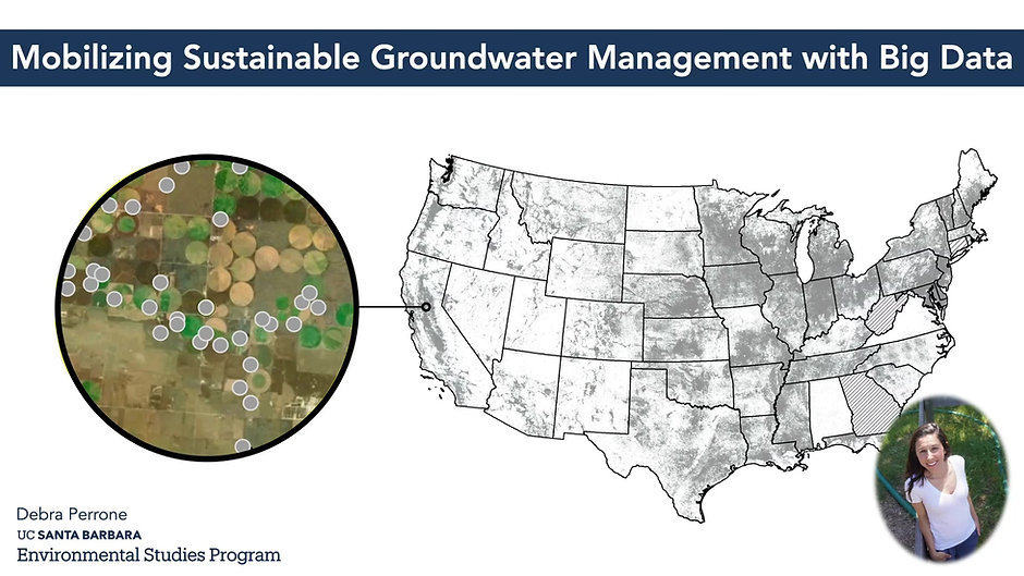 GSA 2021: Addressing Complex Problems in Hydrogeology with Big Data and Machine Learning