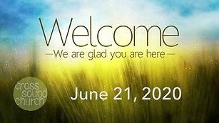 Cross Sound Church 06-21-2020