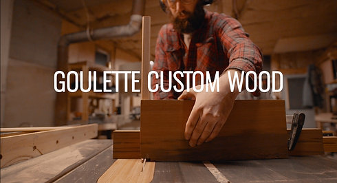 Goulette Custom Wood Promo