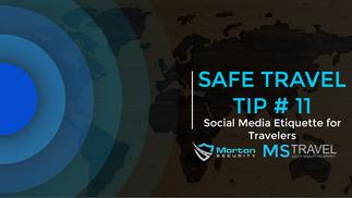 Social Media Etiquette for Travelers