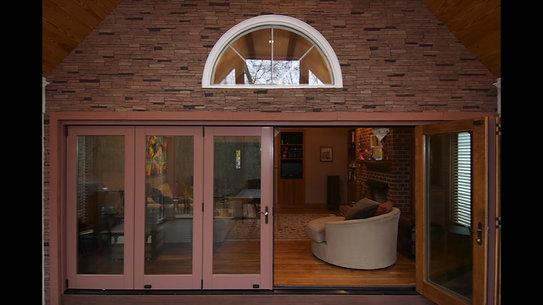 17ft Retractable Bifold Door