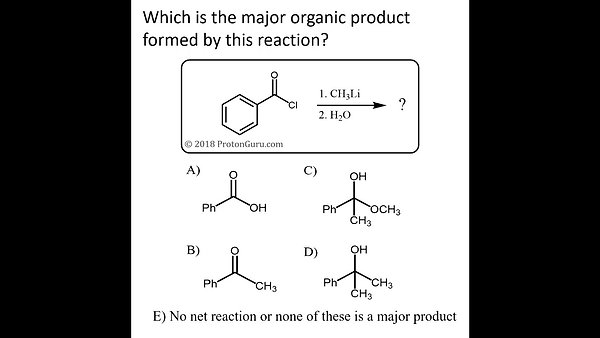 Tons of carbonyl practice