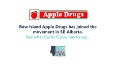 Bow Island Apple Drugs has joined the movement!