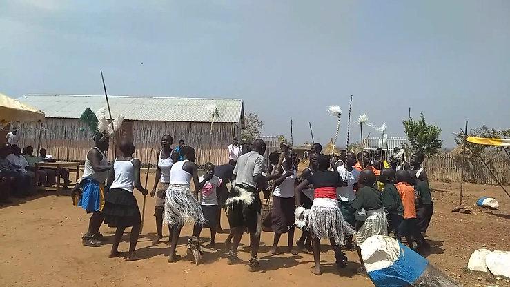 Eden School dedication - traditional dance