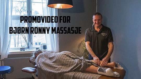 Promovideo for Bjørn Ronny massasje