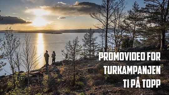 Promovideo for turkampanjen Ti på topp