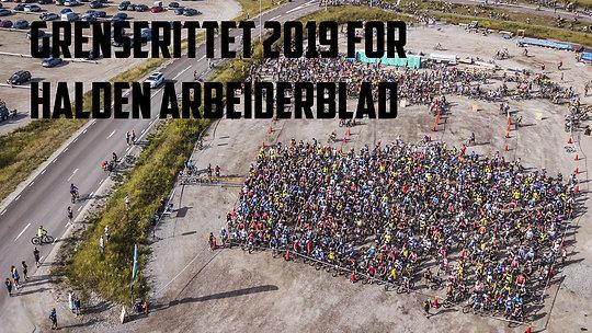 Grenserittet 2019 for Halden Arbeiderblad