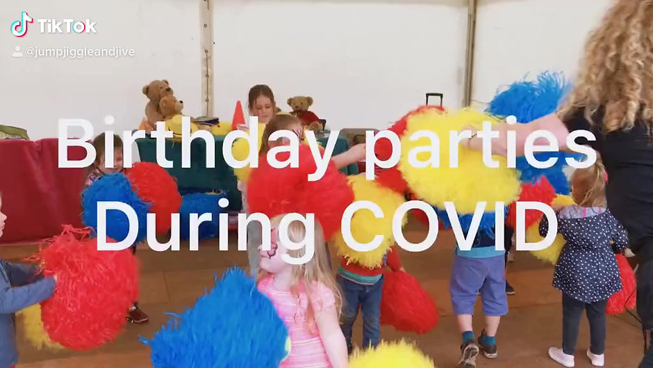 Birthday parties during COVID