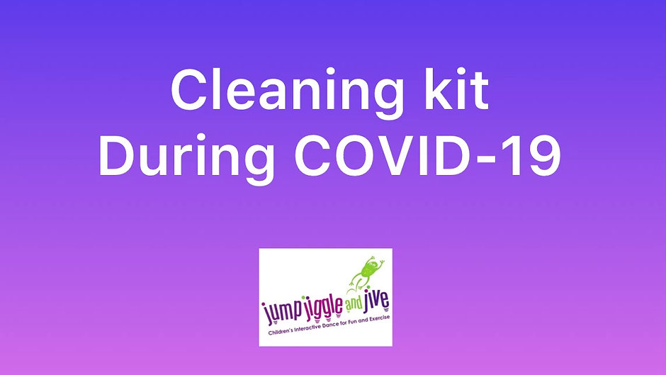 Cleaning our kits during Covid-19