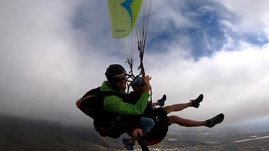 Tandem Paragliding Tenerife Teide Beach Flight