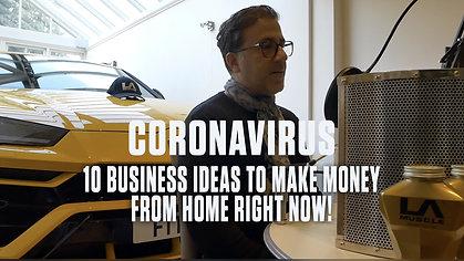10 Business Ideas to make money at home during coronavirus