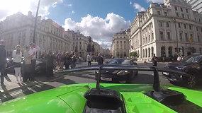 CRAZY Lamborghini supercar convoy in Central London