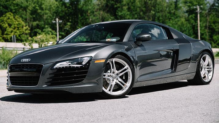 2008 Audi R8 | 6 Speed Gated Shifter | Daytona Grey Pearl Effect