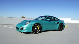 2012 Porsche 911 Turbo S | Ipanema Blue Metallic