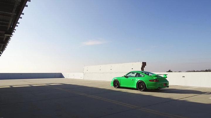 2008 Porsche 911 Carrera S - PTS RS Green