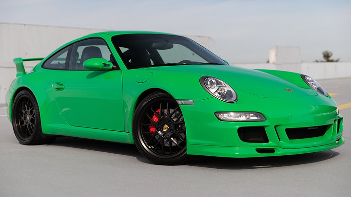 2008 Porsche 911 Carrera S Aerokit | Paint to Sample RS Green