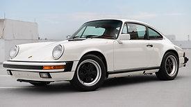 1989 Porsche 911 Carrera | Grand Prix White over Mahogany | Walk-around Video