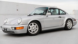 1990 Porsche 964 Carrera 4 | Silver Metallic | 5 Speed Manual