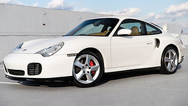 2003 Porsche 911 Turbo | 6 Speed Manual | Carrara White over Savannah Beige