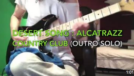 Desert Song - Country Club (Outro Solo) - Yngwie Malmsteen