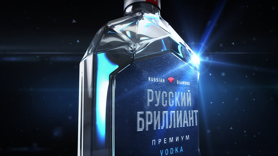 "Vodka ""Russian Diamond"""