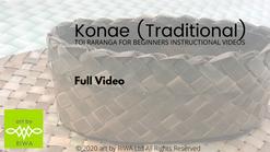 Project 2 - 0. Konae (traditional) - R4B