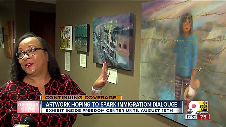 Artwork hoping to spark immigration dialogue