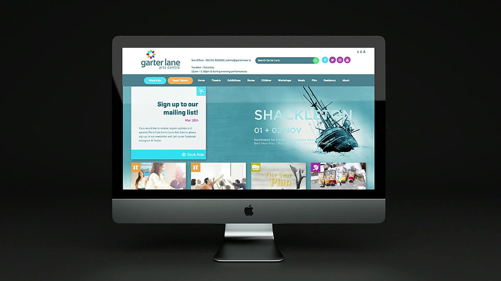 Garter Lane Arts Centre_Website