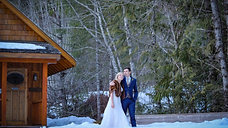 Winter wedding at the Brew Creek Centre