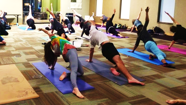 Yoga at the (virtual) Library - Live