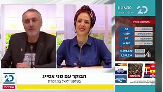 Channel 20 Israel Interview