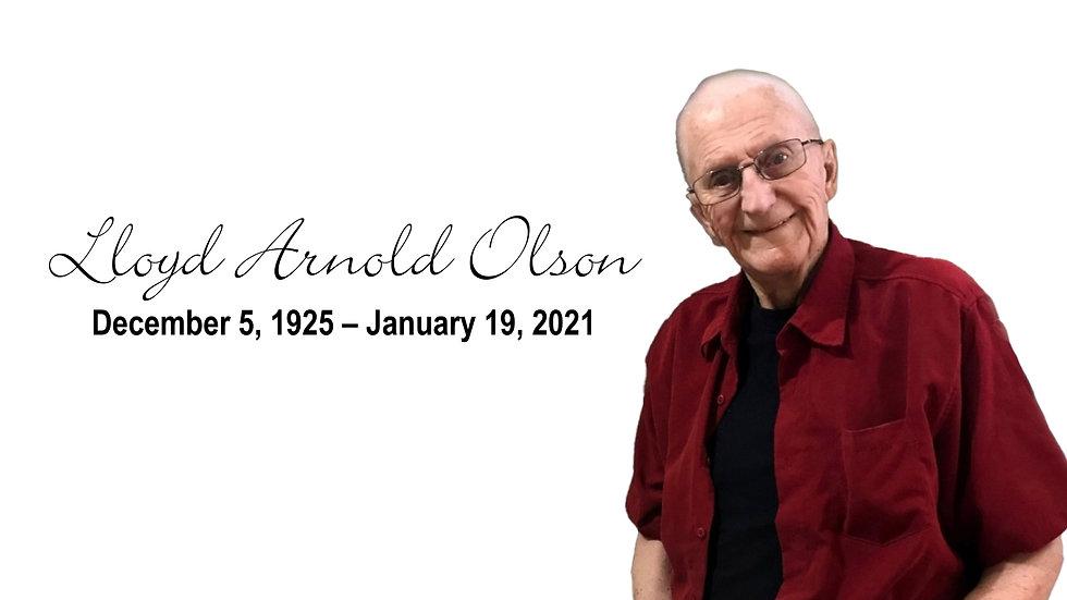 Lloyd Olson Funeral