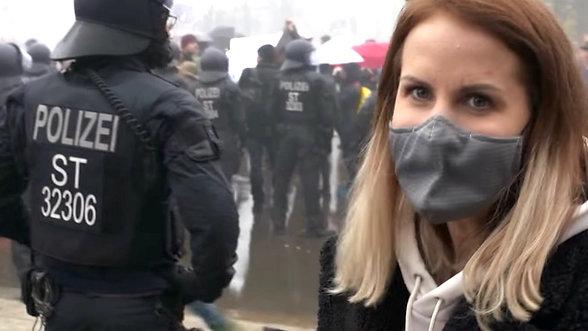 Proteste gegen das Infektionsschutzgesetz